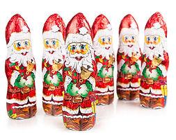 Figurki Mikołaj czekoladowy