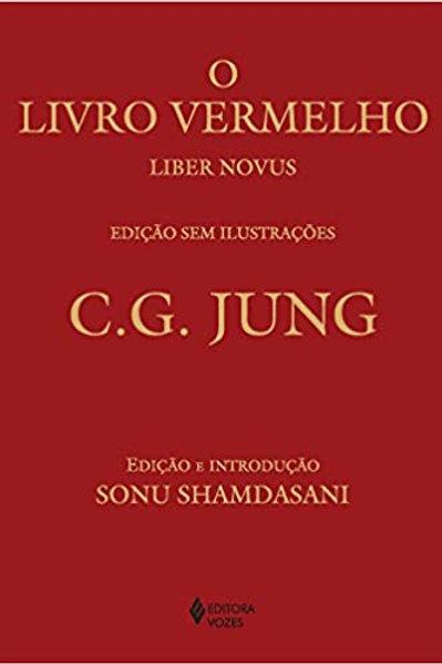 Livro o Livro Vermelho Sem Ilustracoes - C. G. Jung