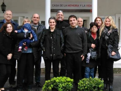 La Secretaria General de la Coalición Cívica ARI, Maricel Etchecoin, visitó la Mansión Seré