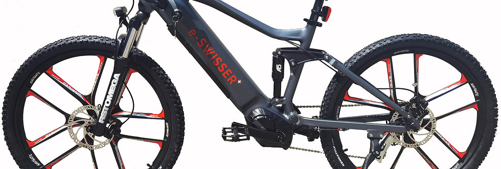 "e-Bike 27,5"" Fully (e-MTB) 