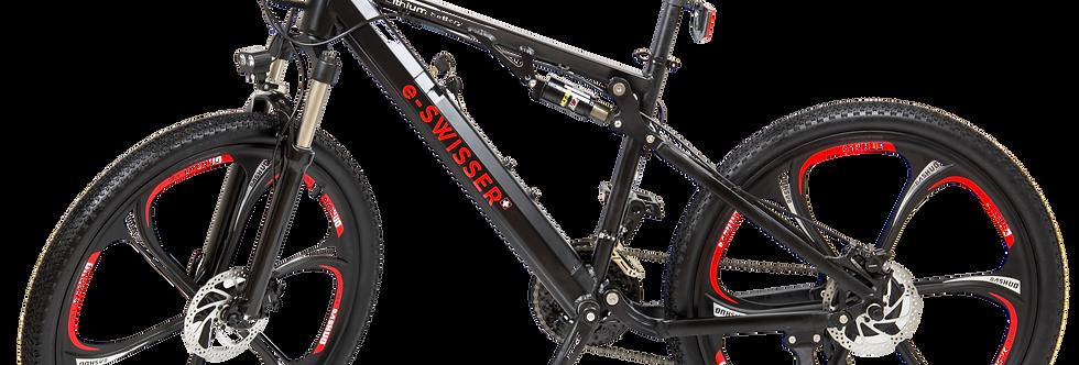"e-Bike 26"" Fully (e-MTB) | s-black"