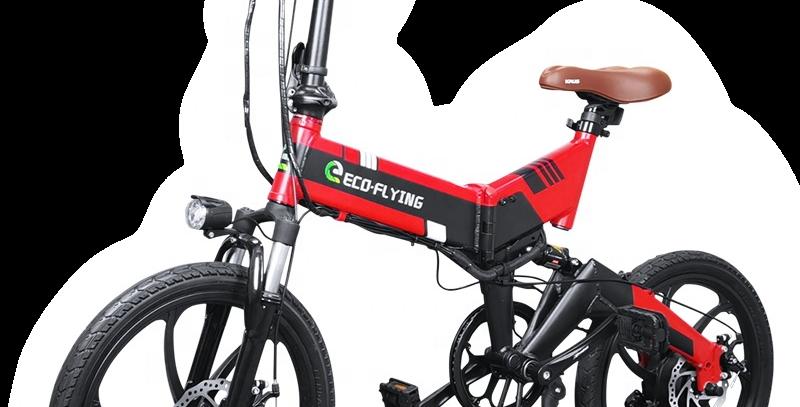 """City E-Bike 20"""" faltbar"""