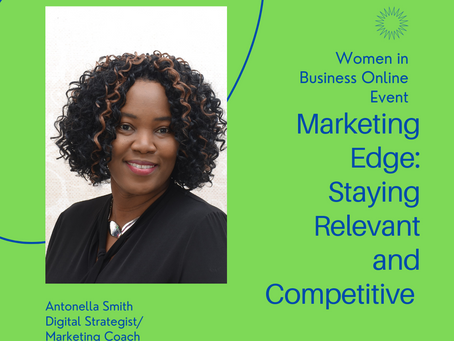Marketing Edge: Staying Relevant and Competitive (Online Event - March 11, 2021 at 12PM)