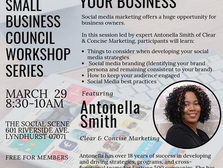 Event: Using Social Media to Grow your Business