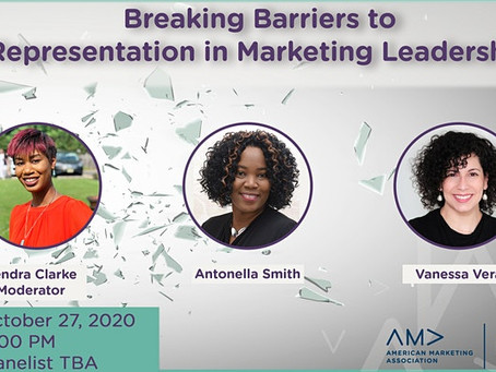 Breaking Barriers: A Virtual Event by the American Marketing Association of NJ