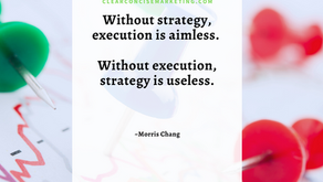 Without Strategy Execution is Aimless