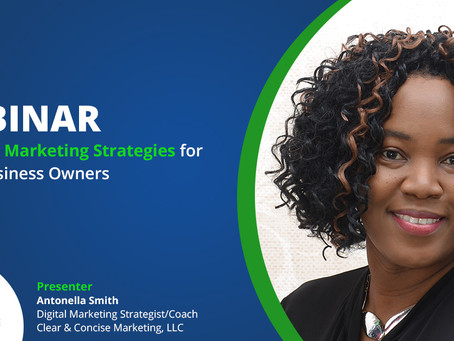 WEBINAR SESSIONS: Essential Marketing Strategies