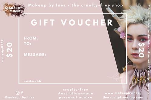 Gift Voucher ($10-$20)