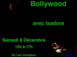 New Bollywood Workshop in Puidoux !!