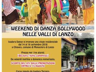Stage di danza Bollywood in Italia