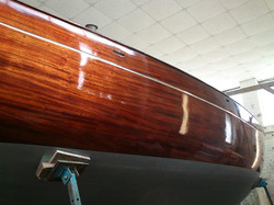 Wooden Boat Refinishing