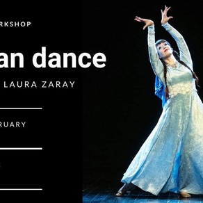 Persian dance workshop (open level)
