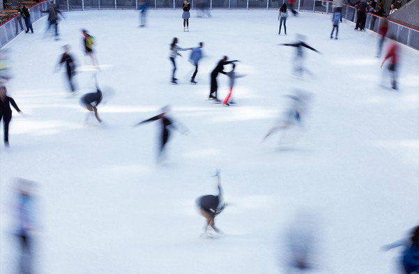 Rink at Rockefeller Center, New York