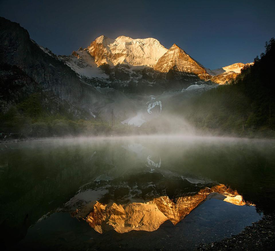 Sunrise, Cherezig Peak