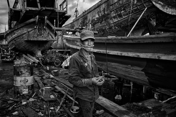 Shipyard, Surat Thani, Thailand
