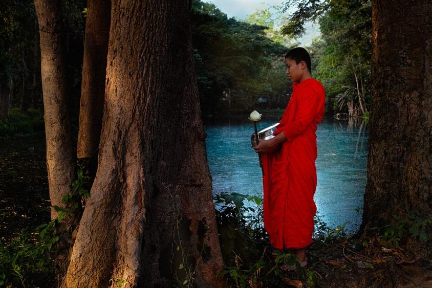 Monk,  Chiang Mai