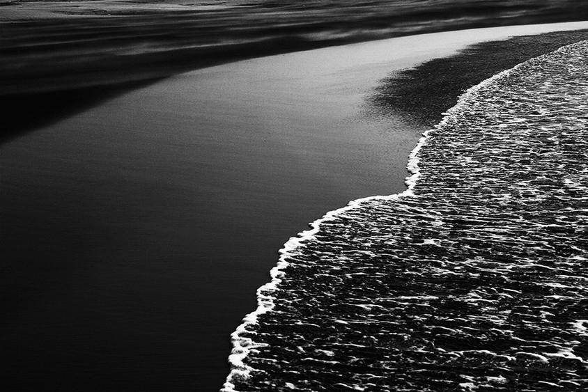 Receding tide, Tainan, Taiwan