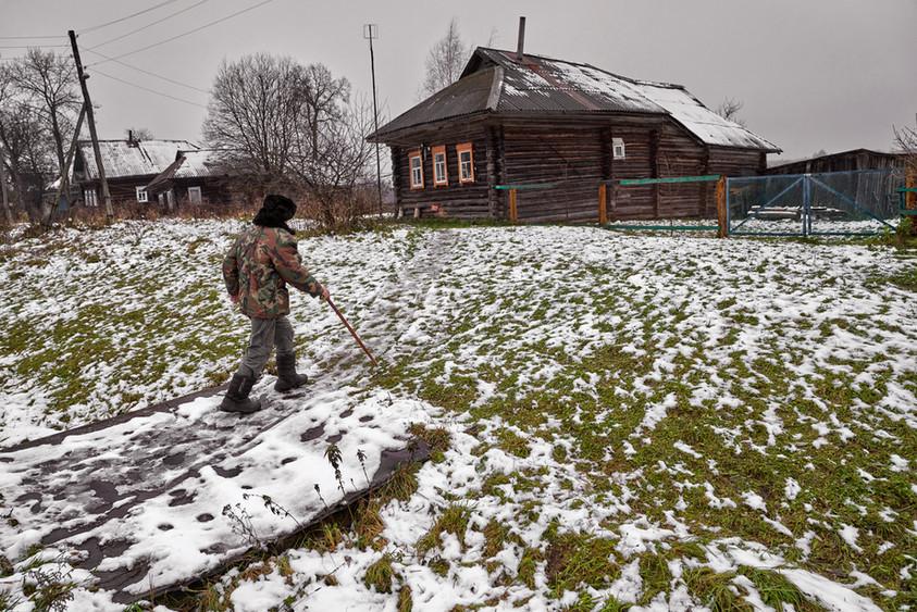 Walking home, Martynovskoye