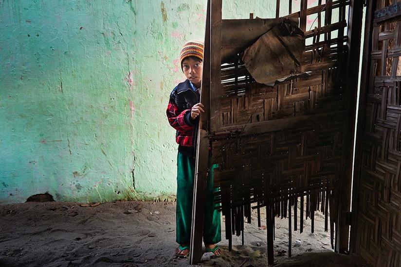 Burmese boy, Monywa