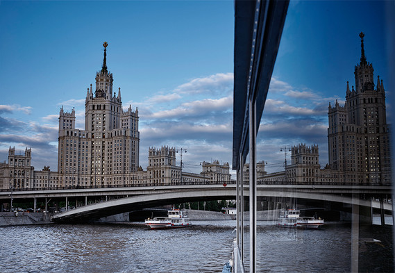 From river cruise on Moskva River, Moscow