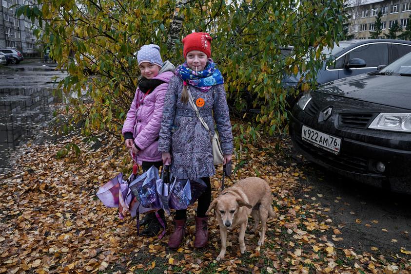 School girl, Rybinsk