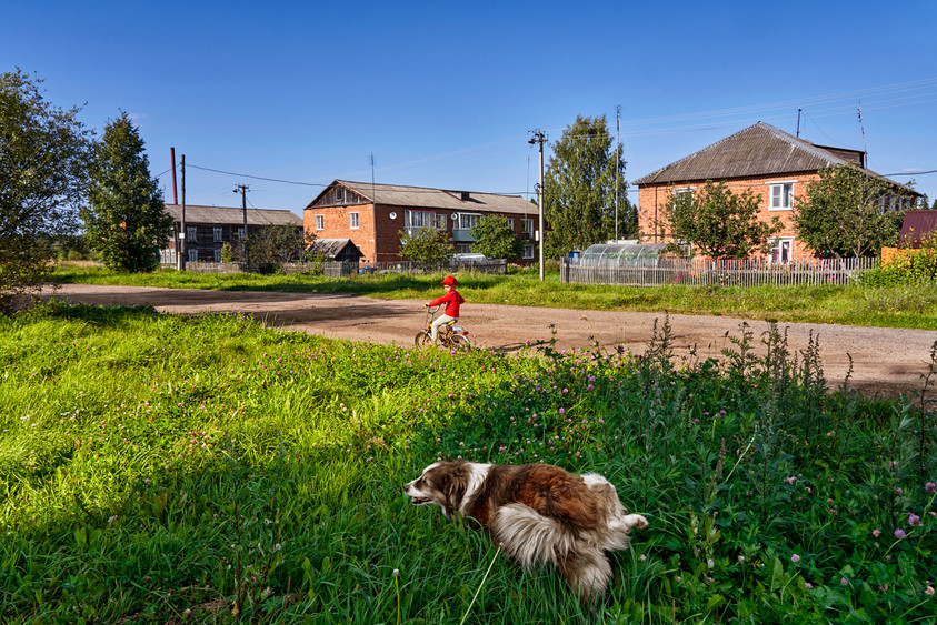 Private time, Rybinsk suburds
