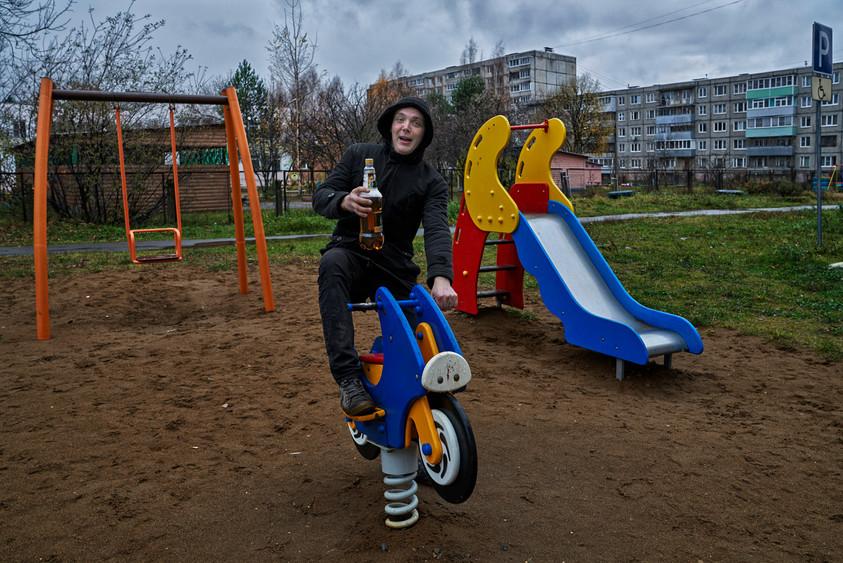 Fun after work, Rybinsk