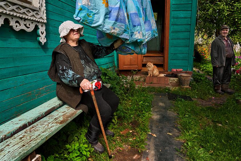 Farm woman, Iskra-Oktyabrya, Rybinsk