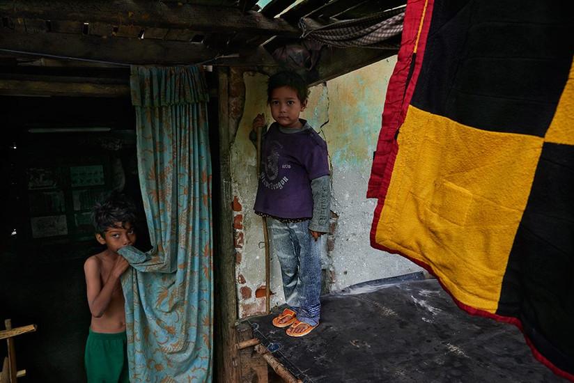 Burmese boys, Monywa