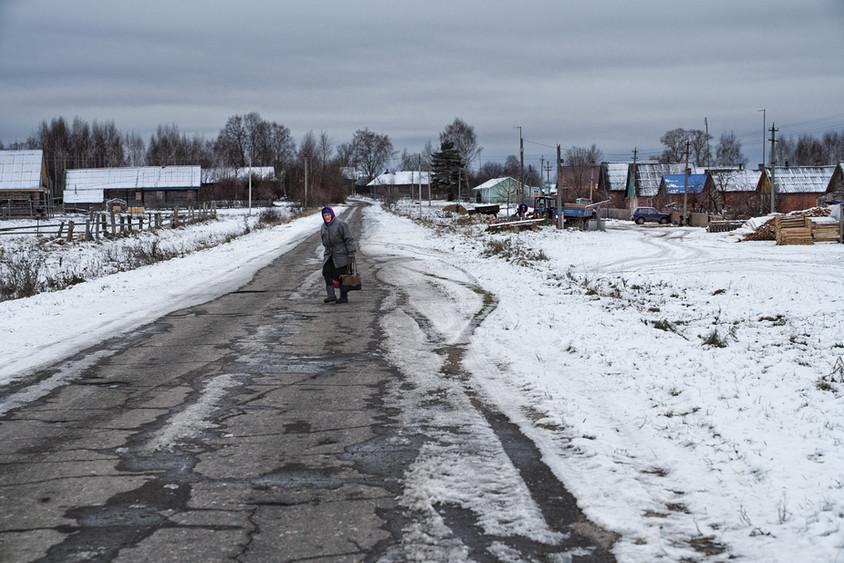 Farm woman, Prozorovskoye