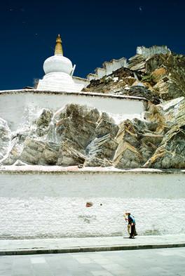 Pilgrim, Potala Palace, Tibet