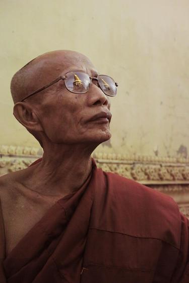 An old monk, Chiangmai