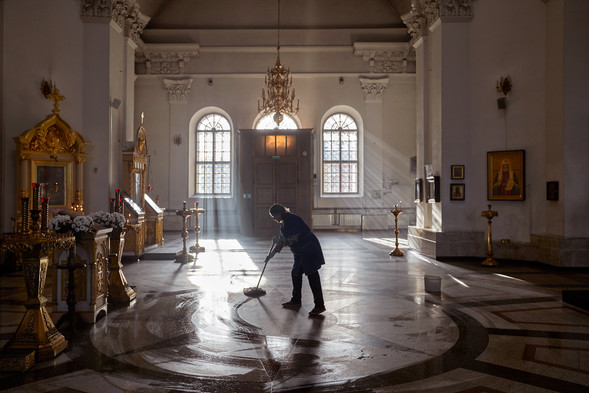 Housekeeping, Saviour Transfiguration Cathedral, Rybinsk
