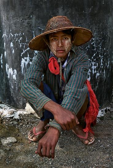 Road-construction worker, Meikhtila