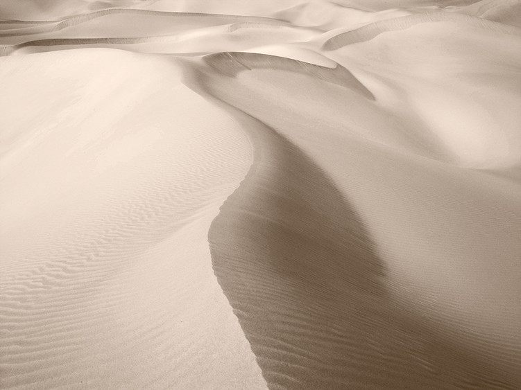 Sand dunes of Badain Jaran
