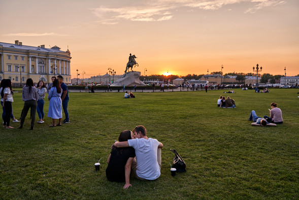 Love in St. Petersburg