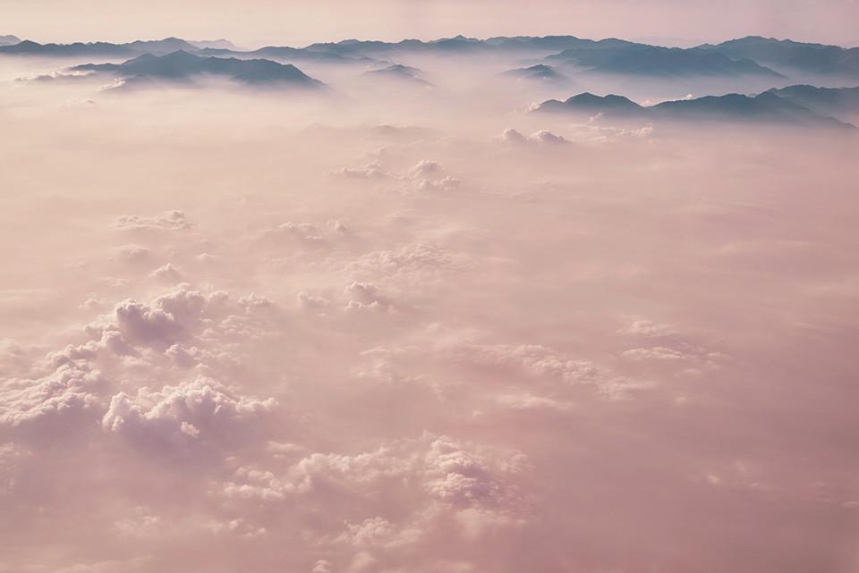 Dawu Mountain range above the clouds, Taiwan