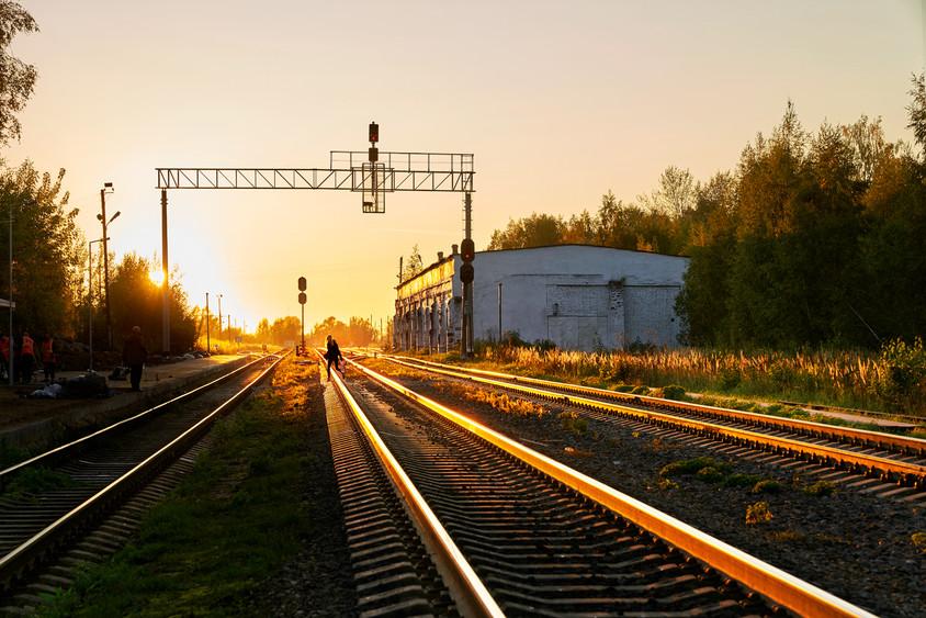 Sunset time, Bezhetsk