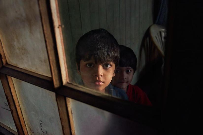 Burmese boys, Yangon