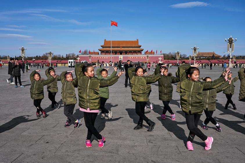 Dance in the Tiananmen Square, Beijing