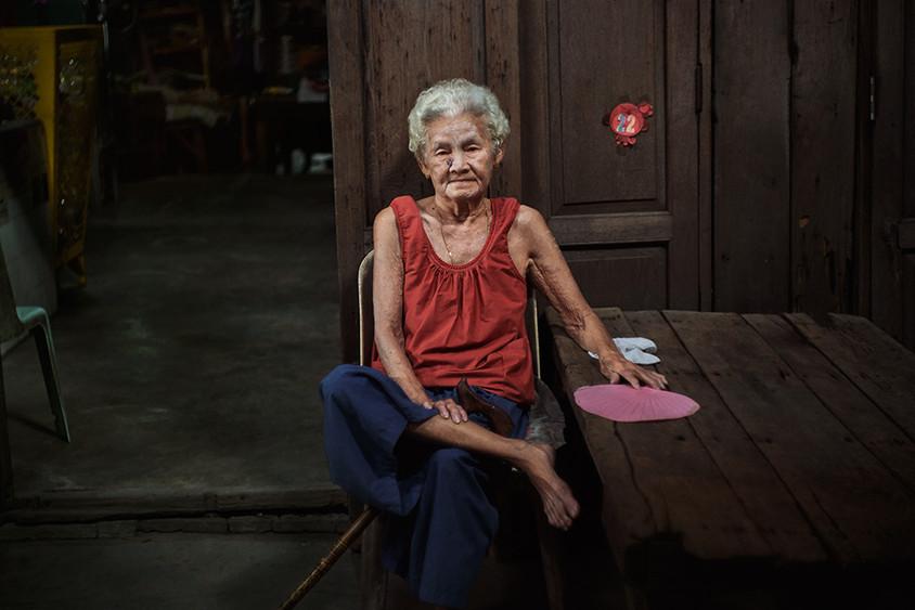 Senior resident, Khlong 6 Wa, Bangkok