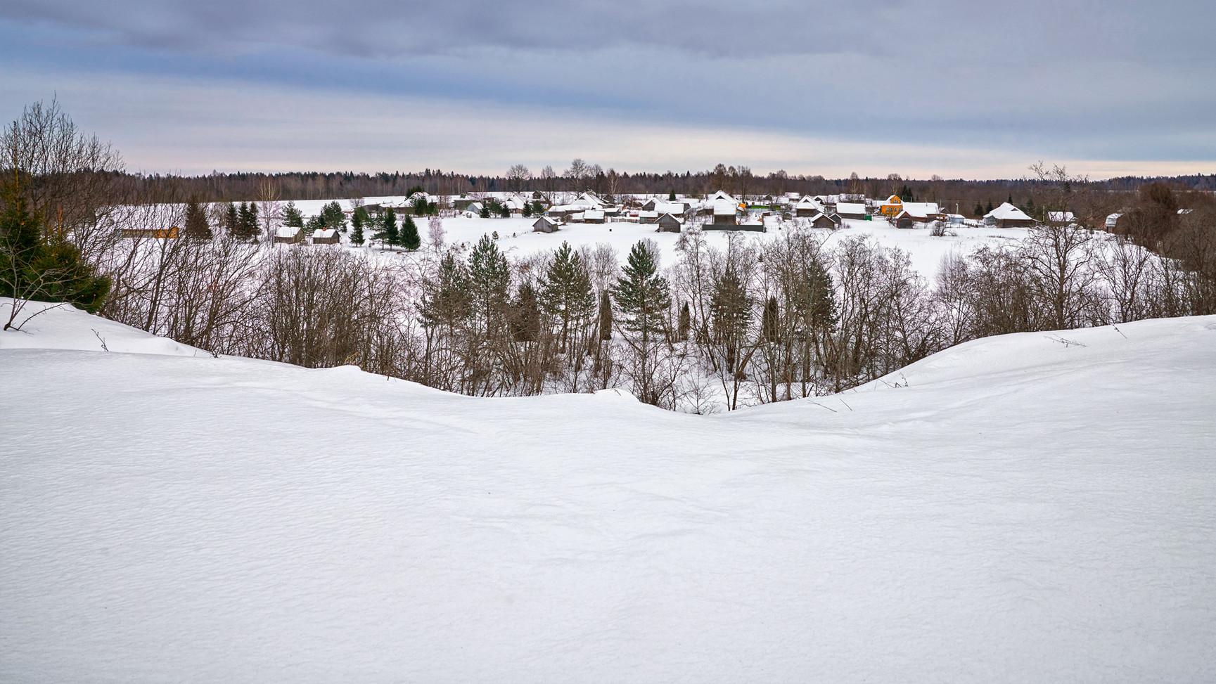 Peaceful landscape, Rybinsk
