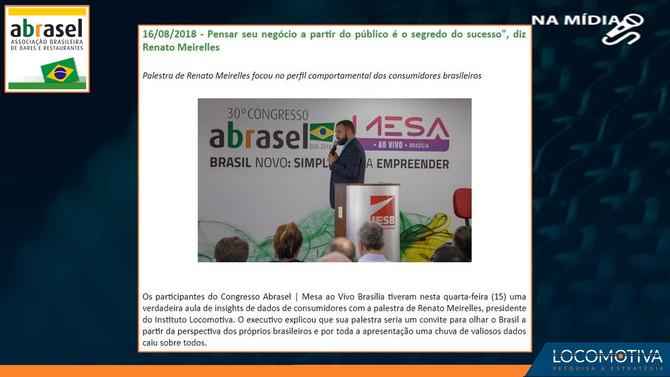 ABRASEL: Pensar seu negócio a partir do público é o segredo, diz Renato Meirelles