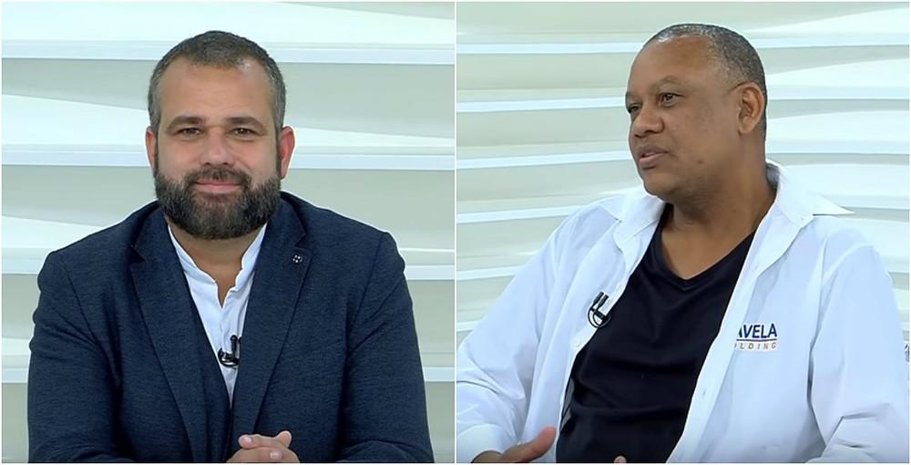 Renato Meirelles e Celso Athayde