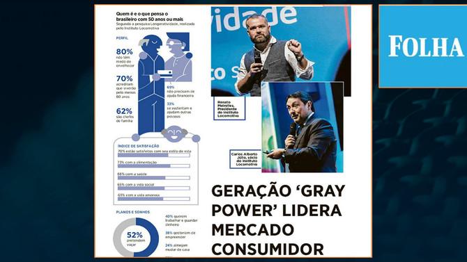 Folha: Geração 'Gray Power' lidera mercado consumidor