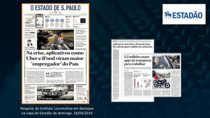 ESTADÃO: Na crise, aplicativos como Uber e iFood viram maior 'empregador' do país