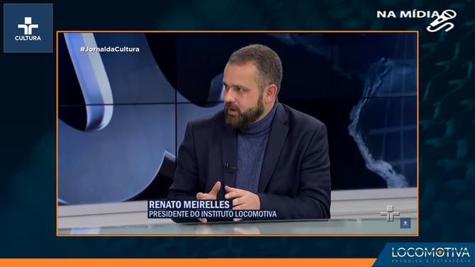 JORNAL DA CULTURA: Renato Meirelles integra bancada de comentaristas