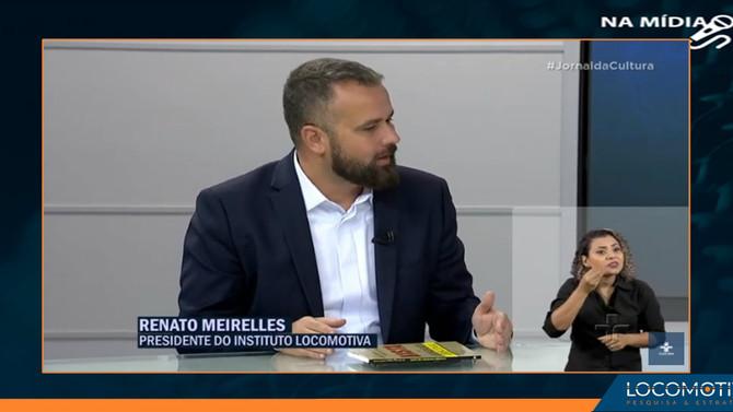 JORNAL DA CULTURA: Renato Meirelles na bancada de comentaristas
