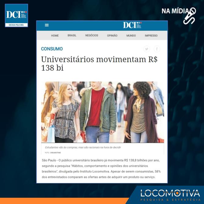 DCI: Universitários movimentam R$ 138 bilhões ao ano