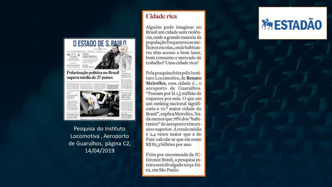 ESTADÃO: Cumbica, uma das dez maiores 'cidades' do País